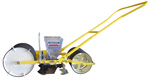 Wide 2-row Clean Seeder AP push planter