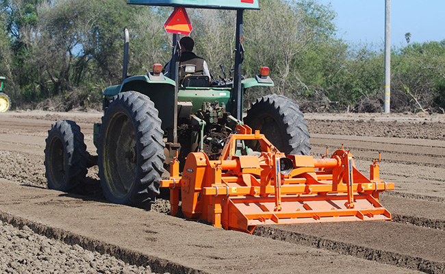 CultiMac bed forming mulcher