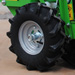 Drive wheel for Wizard planters